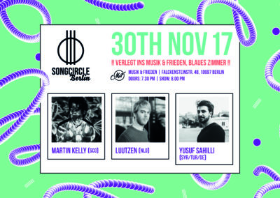 Do. 30. November 2017 | 19.30 | Songcircle Berlin