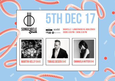 Di. 5. Dezember | 20:00 Uhr | Songcircle Zürich